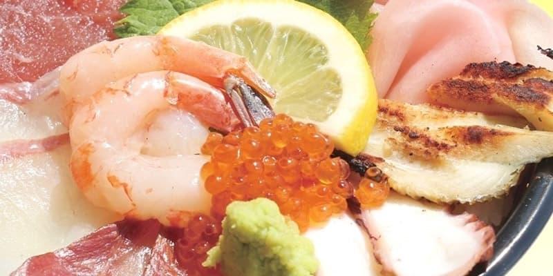 海鮮丼 おさかな共和国えびす丸