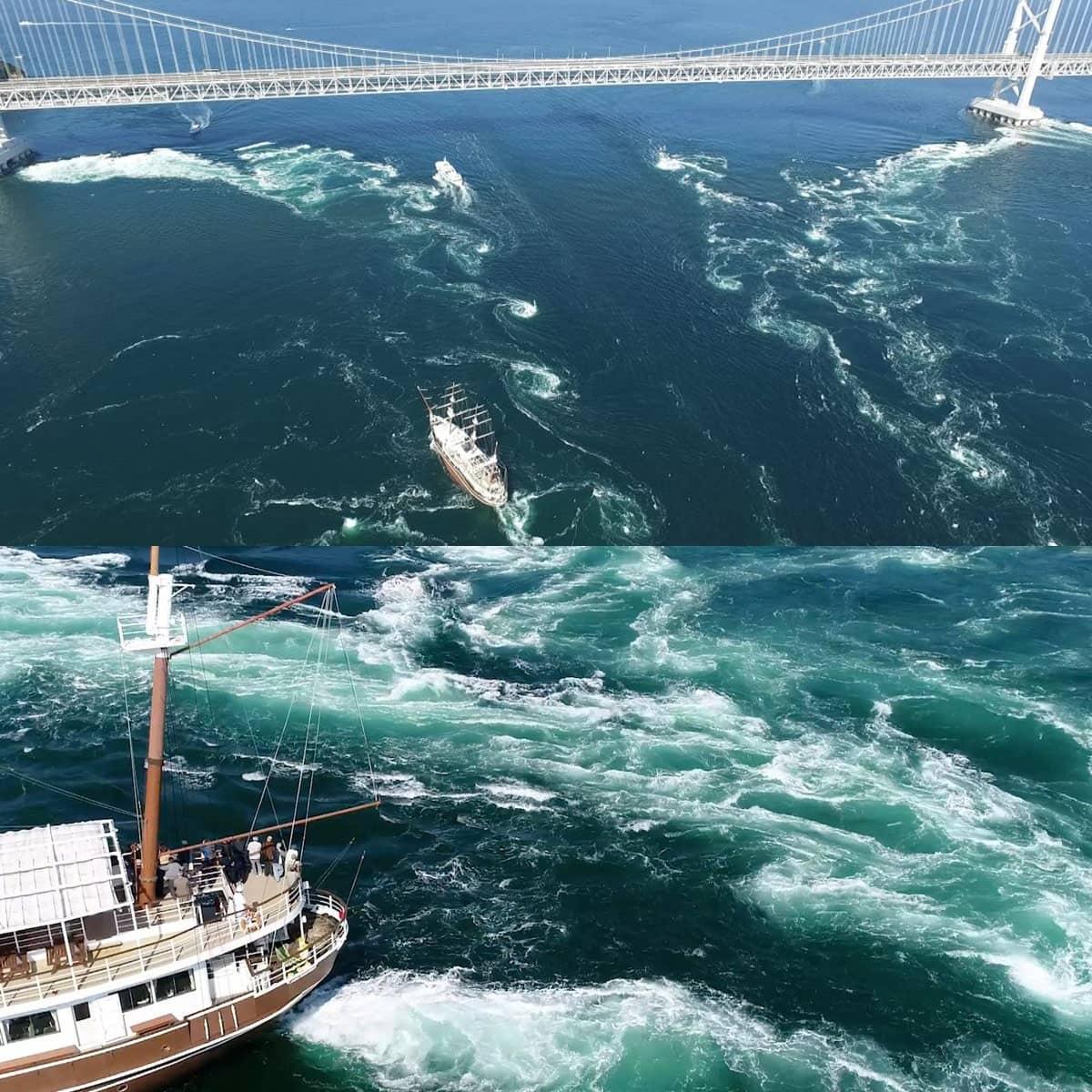 鳴門海峡の渦潮 世界一の理由と発生するメカニズム | アワタビ