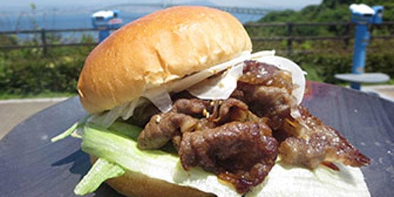 ハンバーガー レストラン望海楼