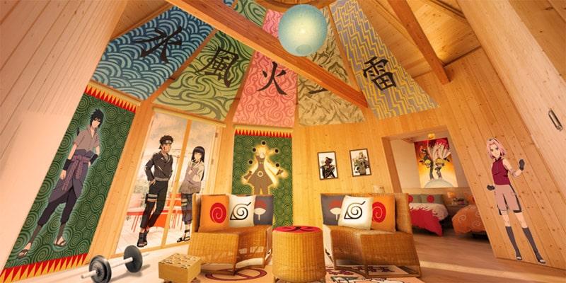部屋 火影の別荘「NARUTOコラボルーム」