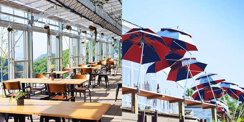店内 レストラン&カフェ「グリナリウム淡路島」