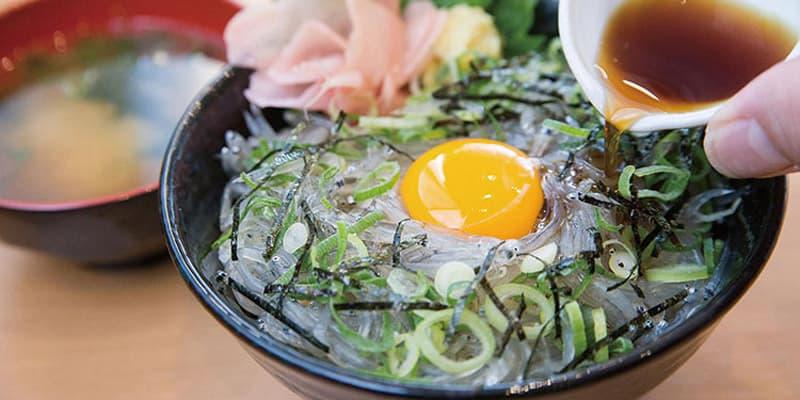 生しらす丼 海鮮料理えびす