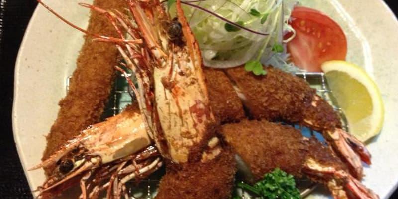 エビフライ定食 カフェレストラン海